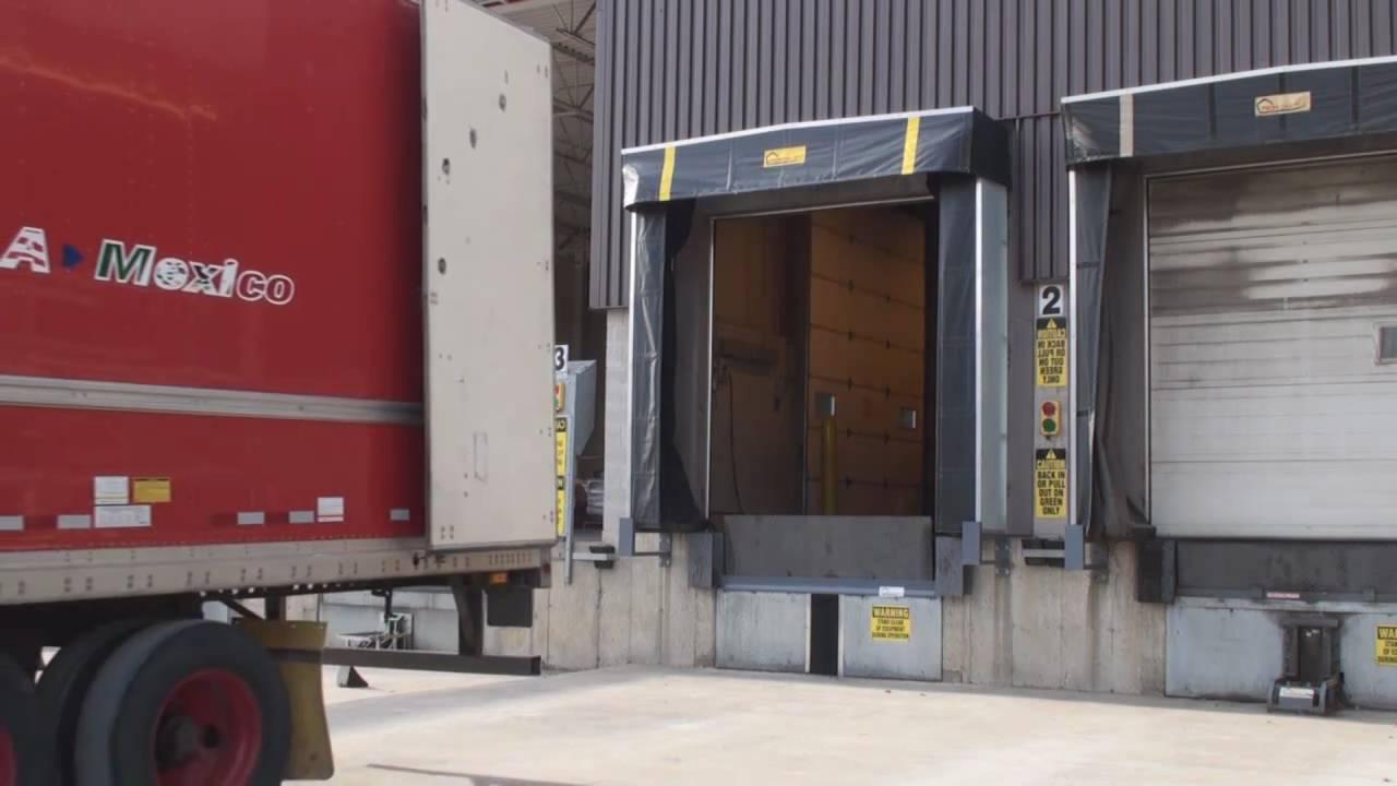 Pentalift Interlocked Loading Dock Safety Equipment Wmv