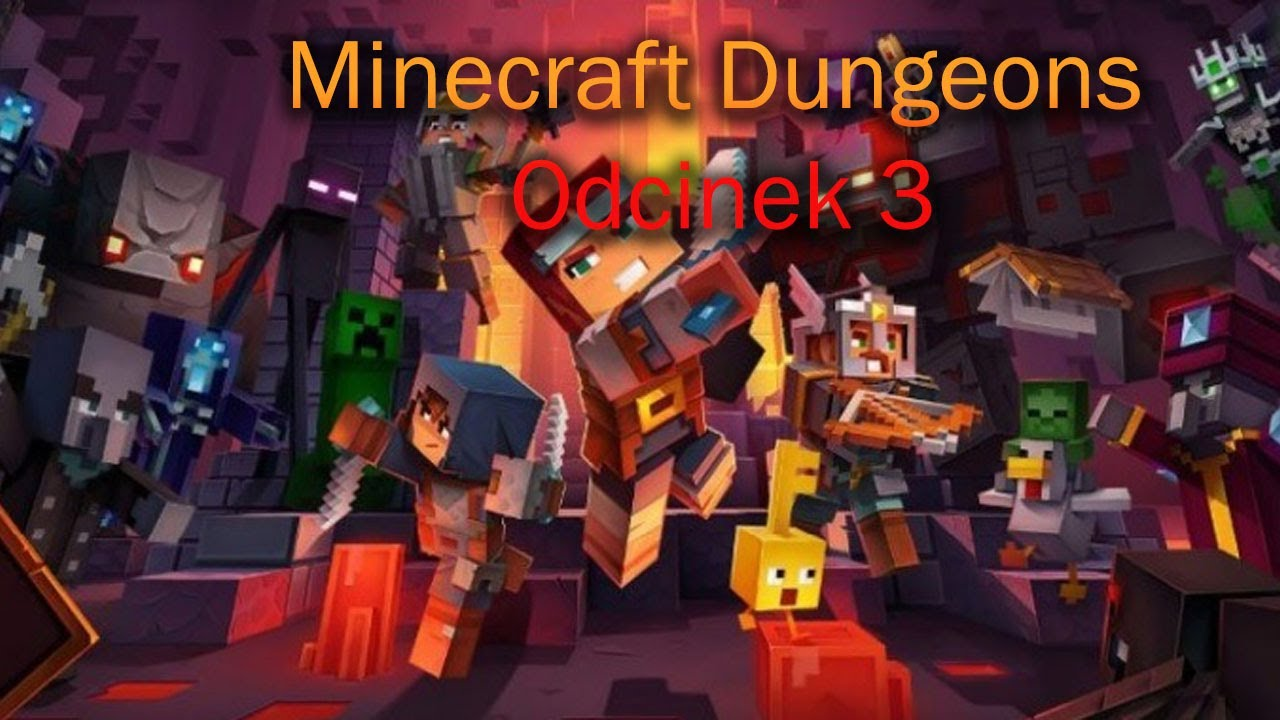 Minecraft Dungeons #3 Kaktusowy Kanion!