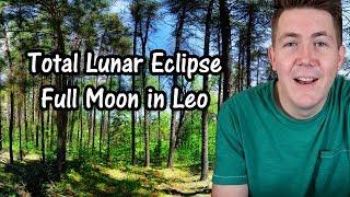 Total Lunar Eclipse 🌑 Full Moon in Leo 🌕 21 January 2019 ♌ Gregory Scott Astrology