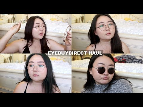 glasses unboxing & review: eyebuydirect haul