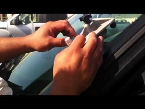 Como hacer una reparación de vidrio - YouTube