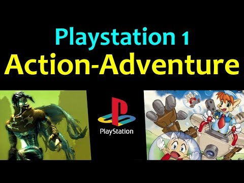 10 Awesome PS1 Action-Adventure Games 😍 Video 1 ... (Gameplay)