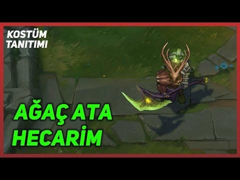 Elderwood Hecarim (Skin Preview) League of Legends
