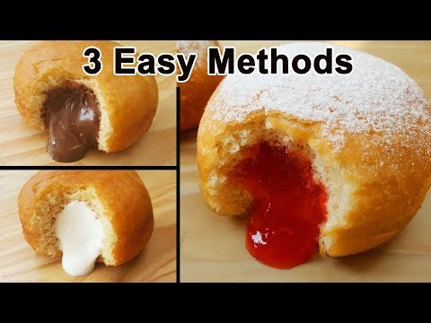 Donut Recipe With 3 Methods/Ways | Easy Homemade Donuts Recipe(Doughnut) | Aliza In The Kitchen