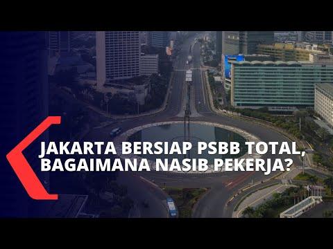 Bersiap PSBB Total, Bagaimana Nasib Pekerja di Jakarta?