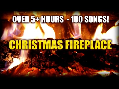 Christmas Fireplace HD Yule Log with 5+ hours of classic Christmas music 100 MustHave Songs