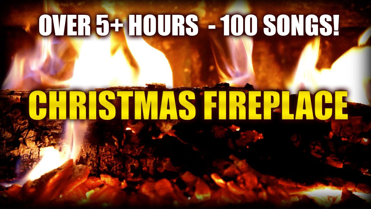 Christmas Fireplace HD (Yule Log) with 5+ hours of classic ...