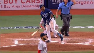 Wander Franco's First Career MLB Home Run | Rays vs. Red Sox (June 22, 2021)