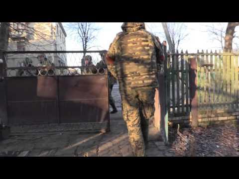 Полная зачистка Красногоровки. Видео СБУ Украина.