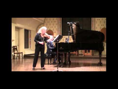 Bela Bartok: Violin Sonata No. 1 - II. Adagio Chase/Connelly