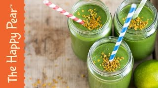 How to make Superfood Kale Smoothie - The Happy Pear