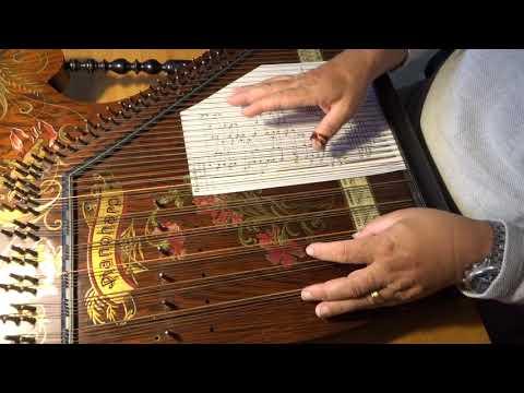 Rennsteiglied auf Pianoharp Akkordzither