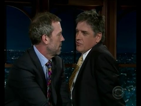 Late Late Show with Craig Ferguson 5/5/2008 Hugh Laurie, Michael Starr