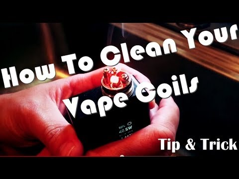 How To Clean Your RDA Coils And Replace Cotton