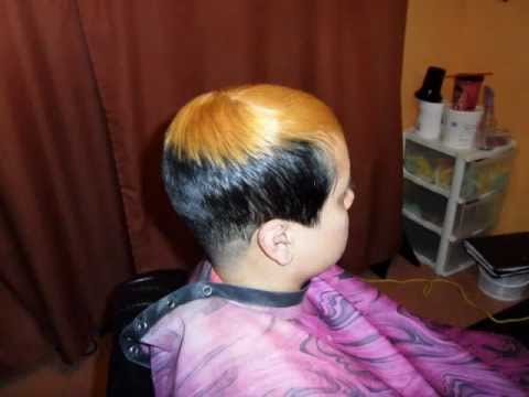black hair salon houston l 20 years experience short haircut drastic makeover youtube