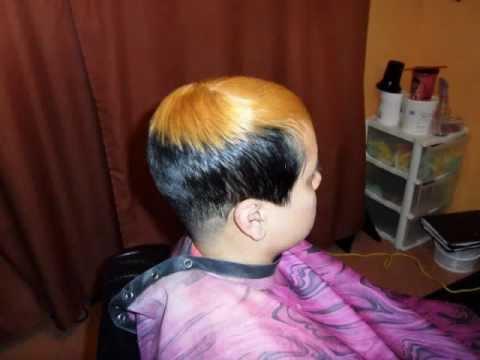 black hair salon houston l 20 years experience short haircut drastic makeover youtube
