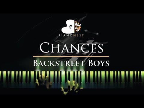 Backstreet Boys - Chances - Piano Karaoke / Sing Along Cover With Lyrics