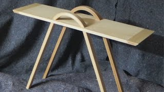 Bent table