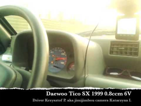 Zamykanie licznika w seryjnym Daewoo Tico 0.8ccm 6V.
