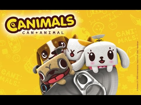 Canimals 1 Sous Marine Canettes Youtube