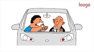 loogo: Sicher Autofahren