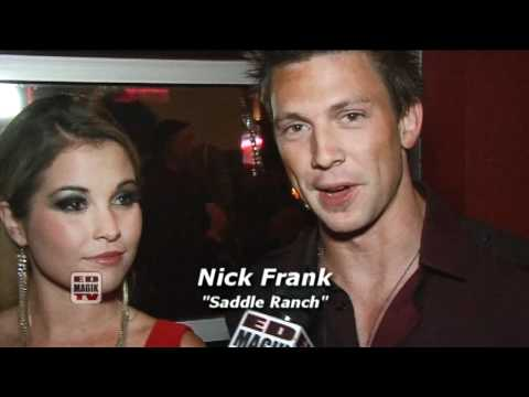Dave Collins, Cassie McWilliams, and Nick Frank from Saddle Ranch (VH1) Interview