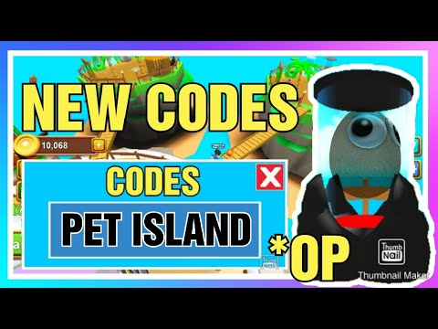 ALL NEW CODES IN PET ISLAND 🐱🐶 - New Release / Simulator   Roblox