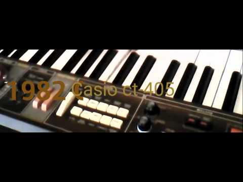 Vintage Casio CT405 wood panel rehab/custom streaming vf