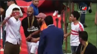 شيكابالا يبكي عقب تتويج الزمالك بـ«كأس مصر».. و«الأباتشي» يقبل رأس مشجع زملكاوي بذوي القدرات الخاصة