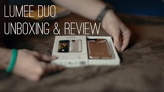 new lumee duo   unboxing review for iphone