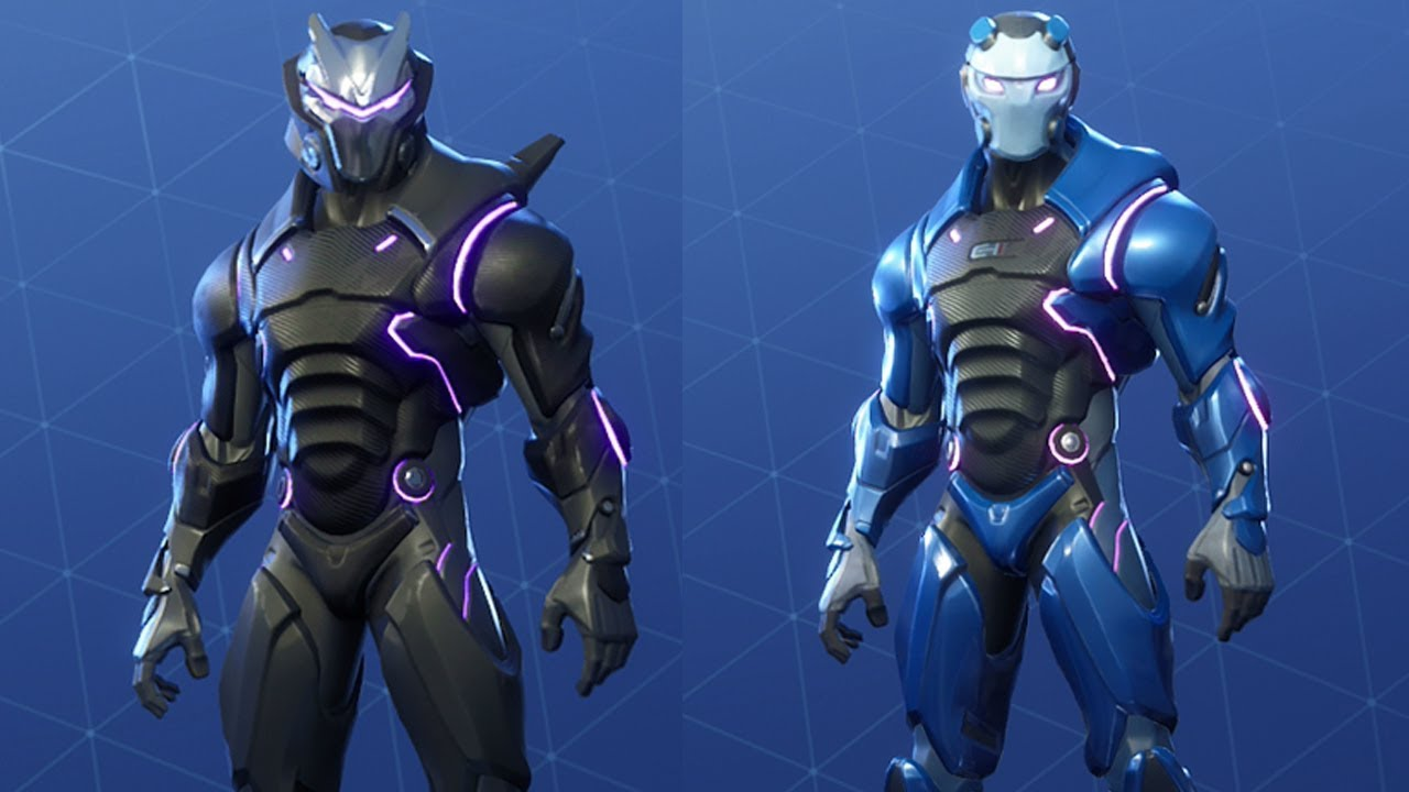 New Light Colors For Omega Carbide Showcase Fortnite Battle Royale Youtube