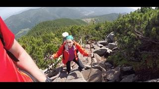 ПОХОД С ЖЕНОЙ #2 // ПОДЪЕМ НА ГОРУ // HIKING WITH WIFE(Следующая серия http://youtu.be/MQzIXOkula0 Второй день нашего похода. Утренние зарисовки и подъем на вершину горы..., 2016-07-11T14:16:33.000Z)