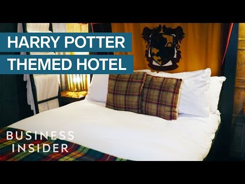 Inside The London Hotel With Secret Harry Potter-Themed Rooms