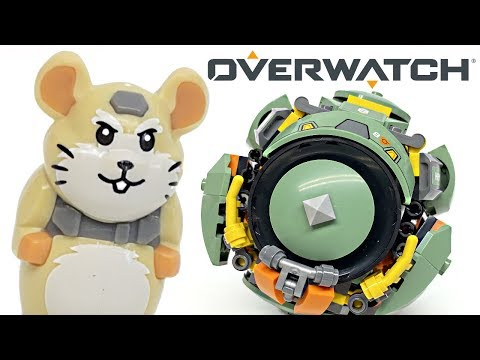 LEGO Overwatch Wrecking Ball review! 2019 set 75976!