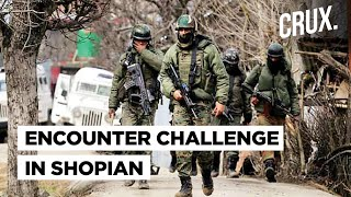 Kashmir Encounter: Militants Take Cover In Dense Shopian Forests