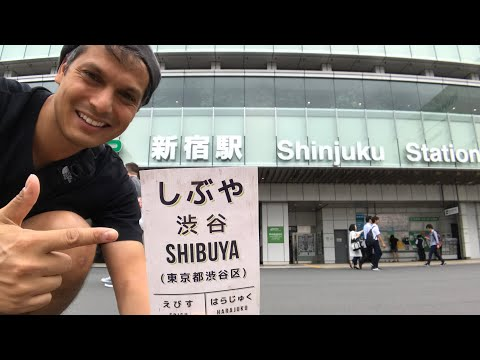 Shinjuku Station to Shibuya Secret Shortcut (via Meiji Shrine) Street View Adventure