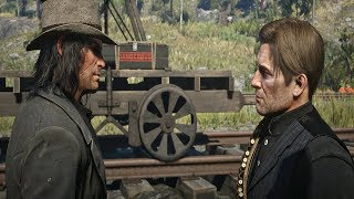 Red Dead Redemption 2 - Arthur Tells John Marston To Leave The Gang With His Family