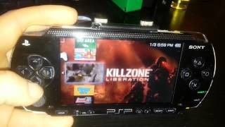 My Hacked PSP