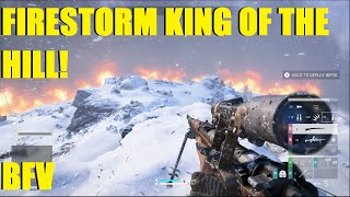 Battlefield V Firestorm - Played King of The Hill and WON! THIS IS MY HILL!! XD (Bren, K98)
