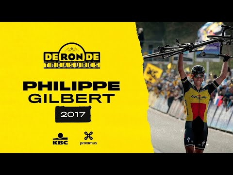 #RondeTreasures: Tour Of Flanders 2017 - Philippe Gilbert