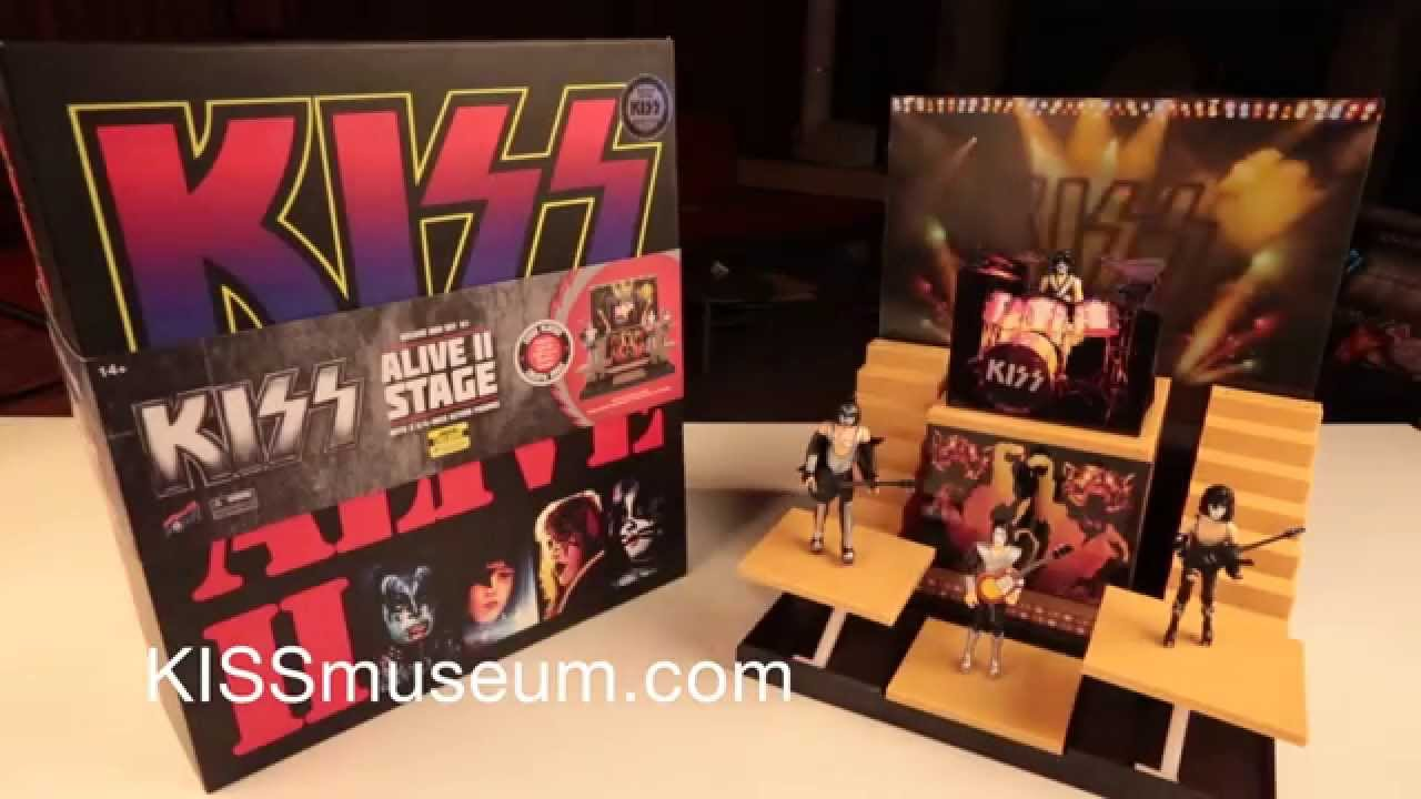 Kiss Alive Ii Stage Deluxe Box Set Unboxing Youtube