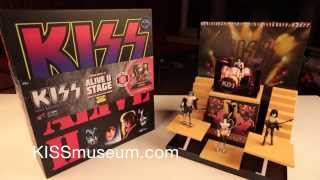KISS Alive II Stage Deluxe Box Set unboxing