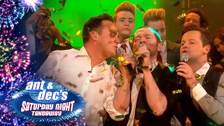 The Commitments & Special Guests Join Ant & Dec - Saturday Night Takeaway