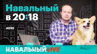 Навальный в 20:18. Эфир #010. Эстафета #ЯзаНавального и #ЯзаВолкова. Гость — корги Изюм