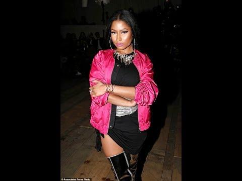 Nicki Minaj Performance At New York Fashion Week 2017
