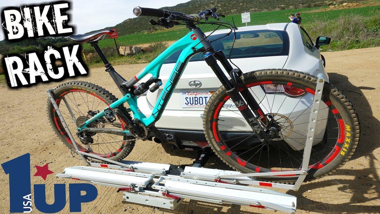 i finally got a hitch rack 1up usa mountain bike rack review best bike rack for a car mtb
