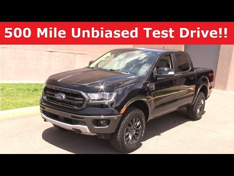 2019 Ford Ranger Crew Cab 4x4: Performance & Economy Test