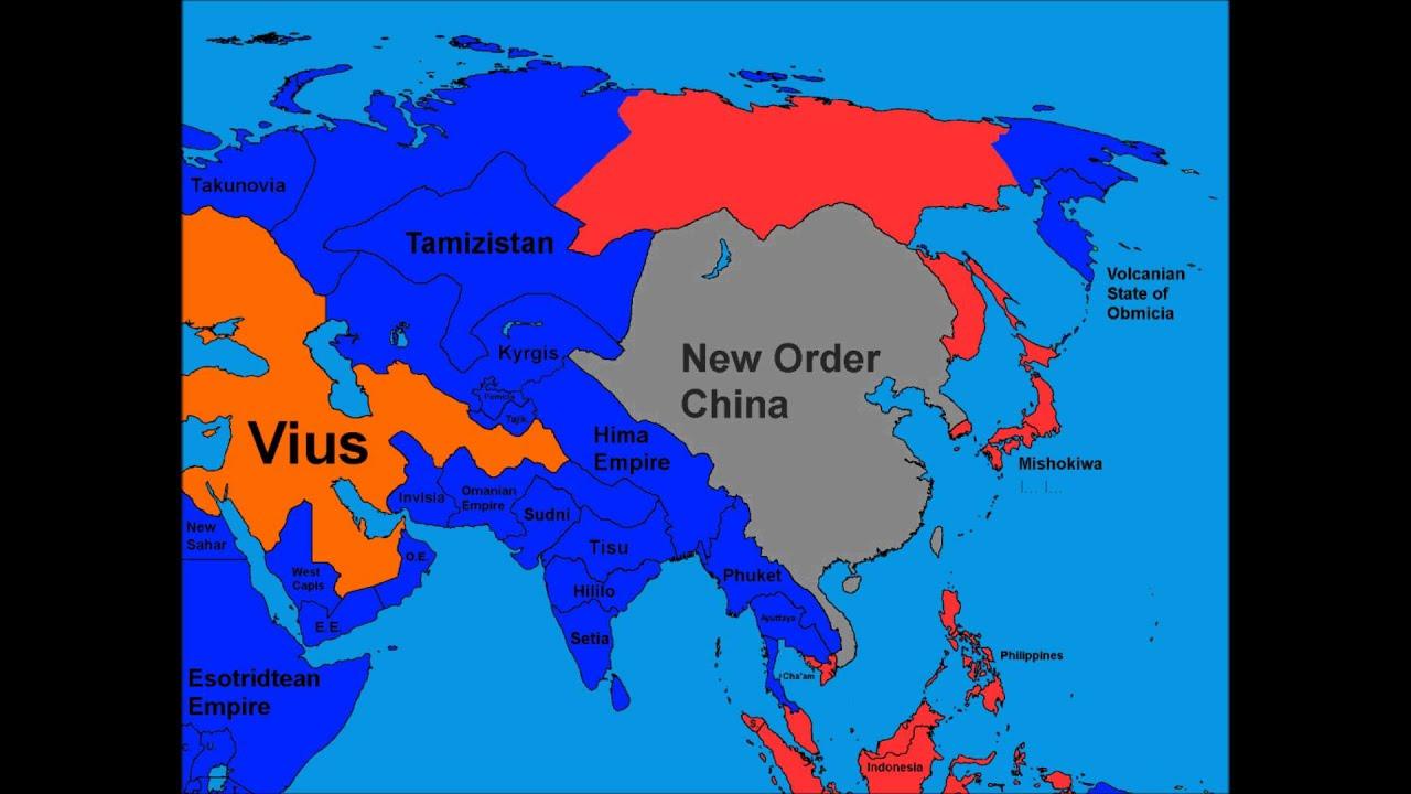 Alternate Future of Asia Part 7Finale