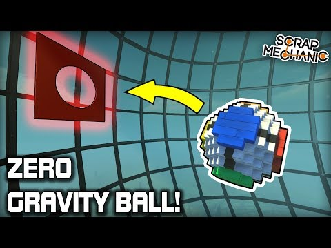 We Invented a New Zero Gravity Sport! (Scrap Mechanic #374)