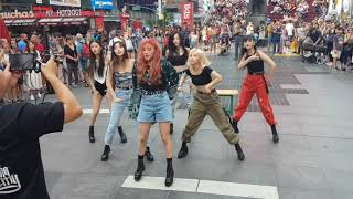 [FANCAM] (G)I-DLE UH-OH NY TIMES SQUARE 2